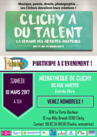 Flyer Clichy a du talent (1)