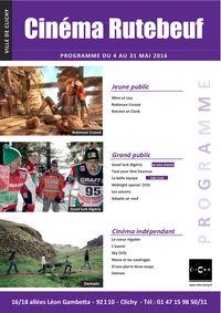 1-Mai 2016 programmation cinéma Rutebeuf Clichy